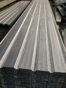Metahybrid | Heat insulated metal roofing and cladding