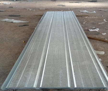 metahybrid thermal insulated metal roofing sheets