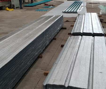 metahybrid thermal insulation metal roofing sheets